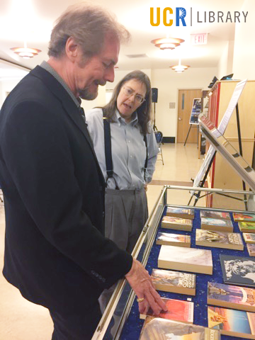 Michael Whelan and JJ Jacobson look at several of the Eaton Collection books with his cover art