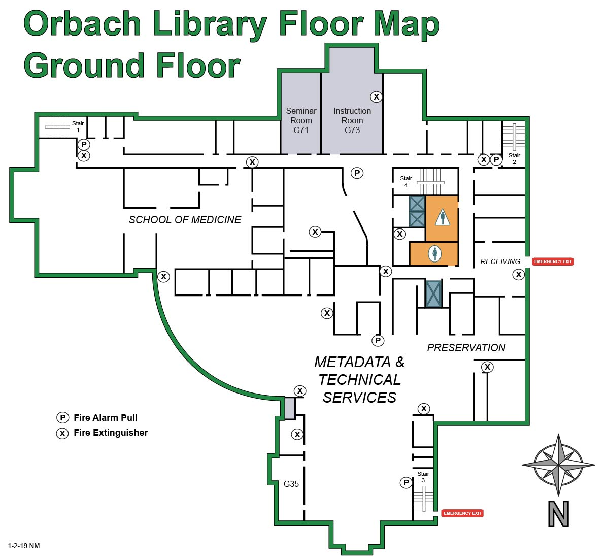 Orbach ground floor