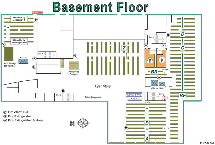 Rivera Basement Map