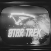 TV with Star Trek logo, Tricon, 1966