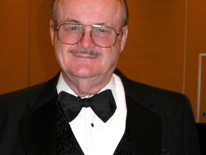 Image: Jerry Pournelle in a Tuxedo, 2005