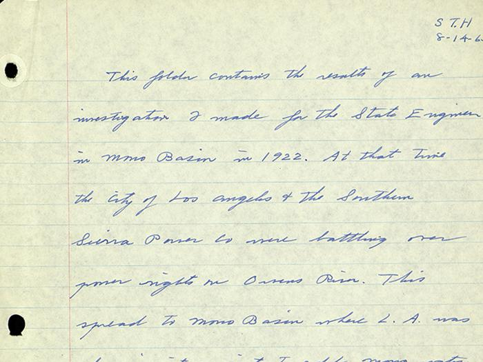 Sidney T. Harding Papers