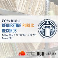 FOIA Basics: Requesting Public Records
