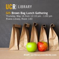Geospatial/GIS Brown Bag Lunch