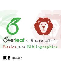 Overleaf for LaTeX Projects: Basics and Bibliographies
