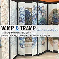 Vamp & Tramp: Artists' Books Display