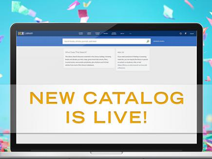 New library catalog is live!