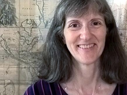 Janet Reyes, Geospatial Information Librarian