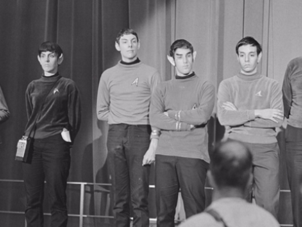 Star Trek presentation, Nycon 3 by Jay Kay Klein
