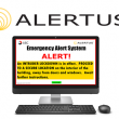 Alertus Desktop Notification software
