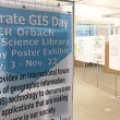 GIS Day Poster Exhibition in Orbach Science Library
