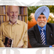 """Dr. William Hewat """"Hew"""" McLeod and Dr. Pashaura Singh"""