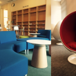 New furniture in Orbach Science Library