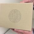 Osuna custom bindery gift box for UCOP