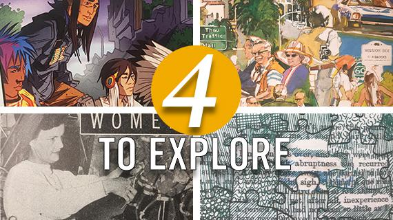 4 to Explore: March Selections from Special Collections