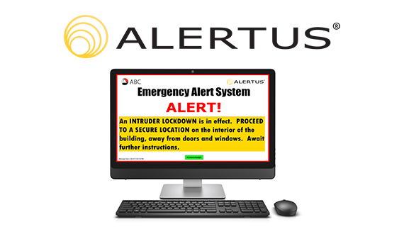 Alertus Installed On Library Computer Workstations Ucr