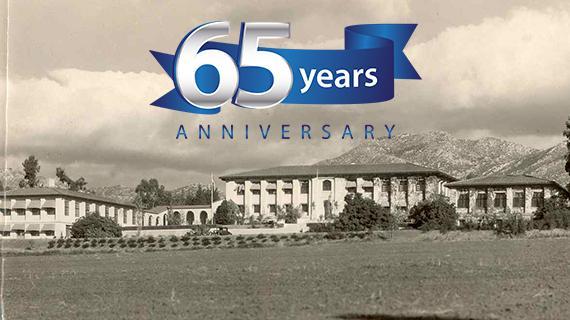 UC Riverside celebrates its 65th anniversary