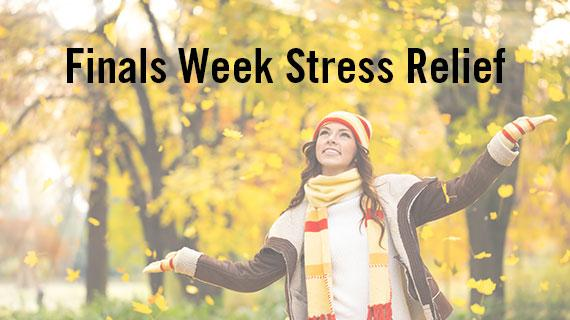 Finals Week Stress Relief: Fall 2019  Event Series