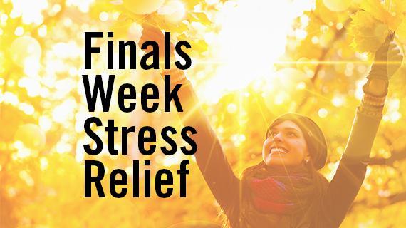 Finals Week Stress Relief - Fall Quarter 2018
