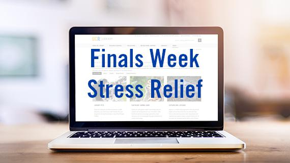 Finals Week Stress Relief goes online for spring quarter 2020