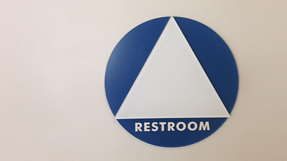 Gender-Inclusive Restroom Symbol