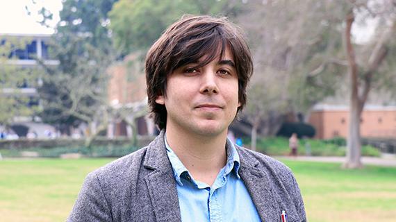 Jason Mazzotta, Access Services Desk Assistant - Orbach