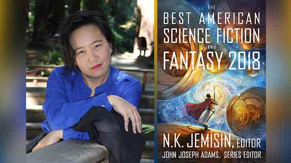 UCR Class of 2017 alumna Jaymee Goh was featured in The Best American Science Fiction and Fantasy 2018 anthology