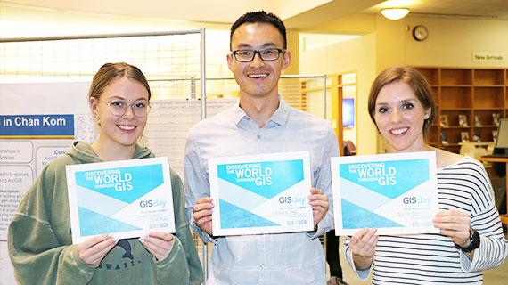 GIS Day 2019 Poster Contest winners
