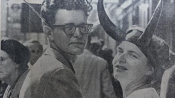 Poul and Karen Anderson (from The Sun, August 28, 1965)