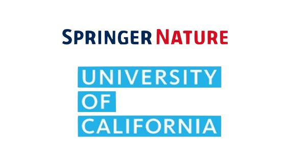 The UC system announced a groundbreaking open access deal with Springer Nature