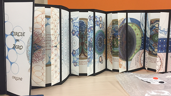 Circle or Zero, an artists' book by Mari Eckstein Gower
