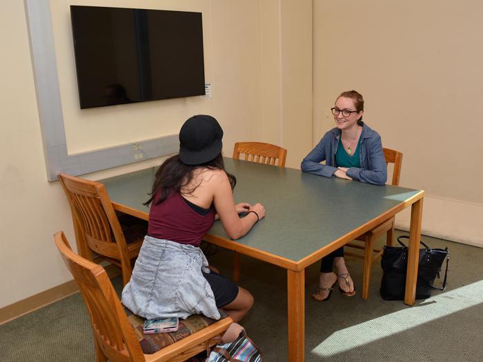 Rivera Library 4 person study room