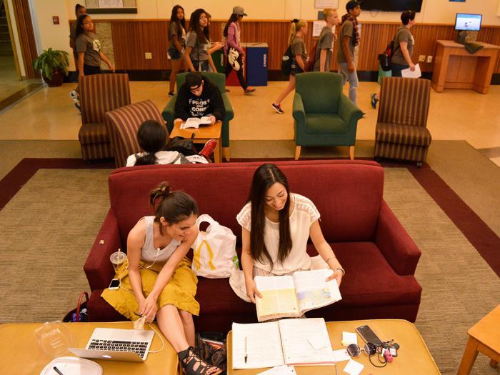 Rivera Library Lounge