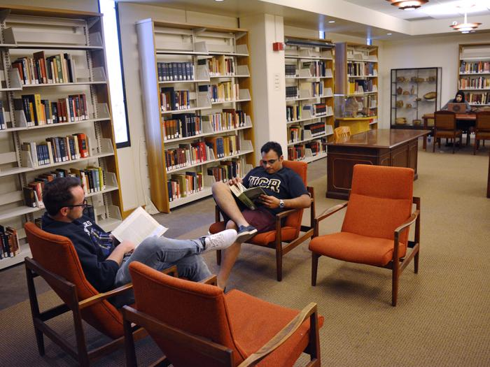 Special Collections Costo Reading Room UCR Library