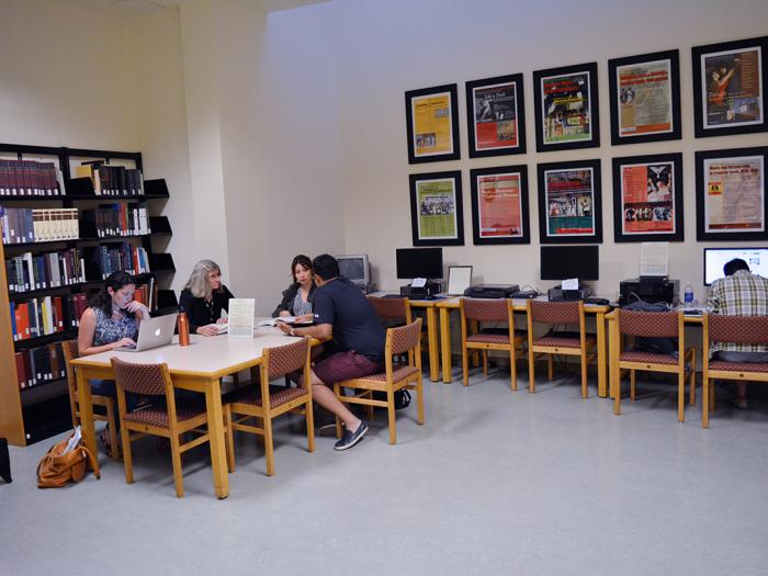 music reading room | ucr library