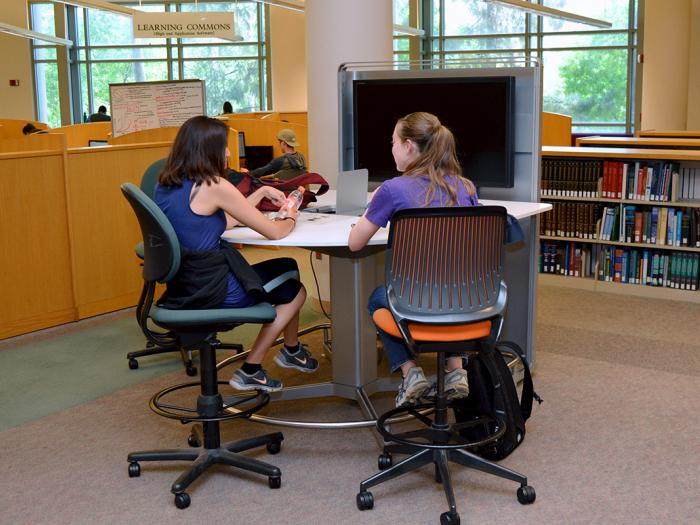 Orbach Science Library Open Study Area