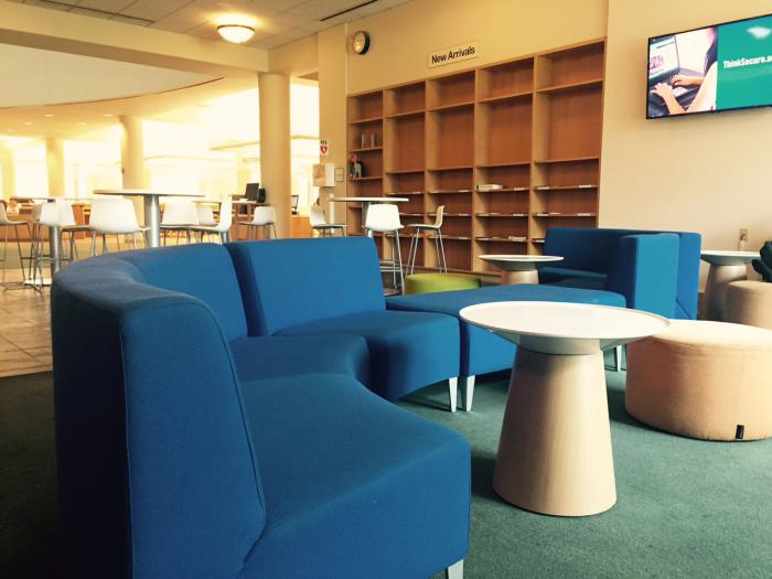 Orbach Science Library Lounge